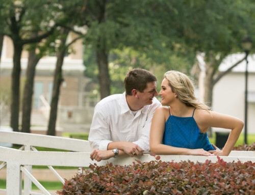 Haggard Park Engagement in Plano, Texas